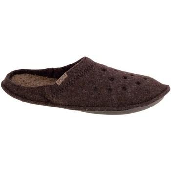 Boty Muži Papuče Crocs Classic Slipper Hnědé