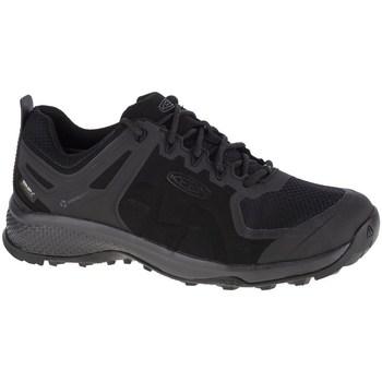Boty Muži Běžecké / Krosové boty Keen Explore WP Černé