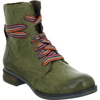 Boty Ženy Kotníkové boty Josef Seibel Sanja 04 Zelené