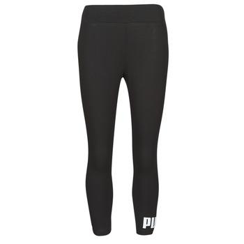 Textil Ženy Legíny Puma ESS 3/4 LOGO LEGGING Černá