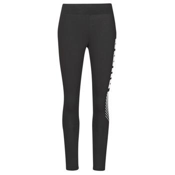 Textil Ženy Legíny Puma ESS+ GRAPHIC LEGGING Černá