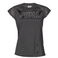 Textil Ženy Trička s krátkým rukávem Puma WMN TRAINING TEE F Černá