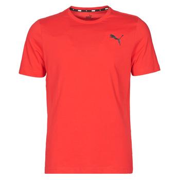 Textil Muži Trička s krátkým rukávem Puma ESS TEE Červená