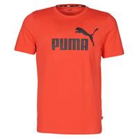 Textil Muži Trička s krátkým rukávem Puma ESSENTIAL TEE Červená