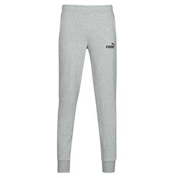 Textil Muži Teplákové kalhoty Puma ESS LOGO SLIM PANT LOGO FL CL Šedá