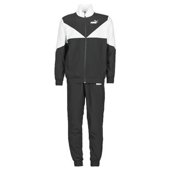 Textil Muži Teplákové soupravy Puma Woven Suit CL Černá / Bílá