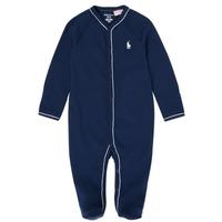 Textil Dívčí Pyžamo / Noční košile Polo Ralph Lauren LOLLA Tmavě modrá
