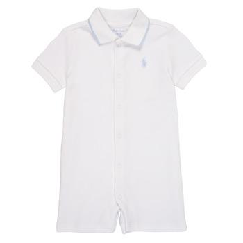 Textil Chlapecké Overaly / Kalhoty s laclem Polo Ralph Lauren TONNY Bílá