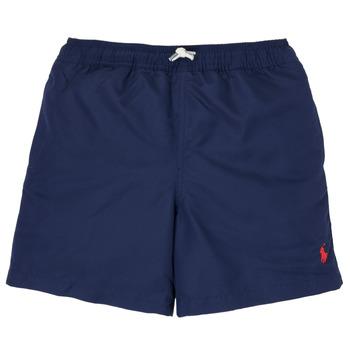 Textil Chlapecké Plavky / Kraťasy Polo Ralph Lauren SOLAL Tmavě modrá