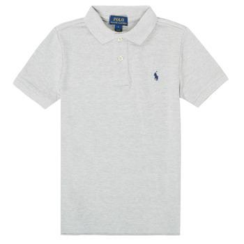 Textil Chlapecké Polo s krátkými rukávy Polo Ralph Lauren FRANCHI Šedá