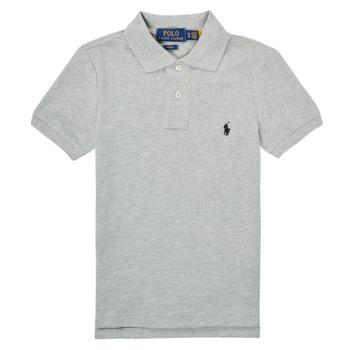 Textil Chlapecké Polo s krátkými rukávy Polo Ralph Lauren FRANCHI Modrá