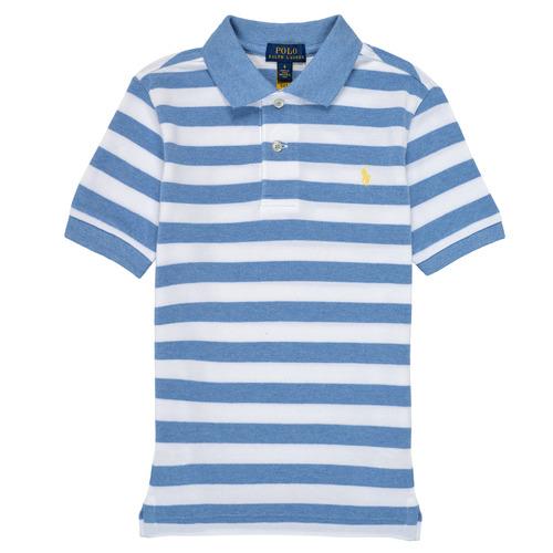 Textil Chlapecké Polo s krátkými rukávy Polo Ralph Lauren VRILLA