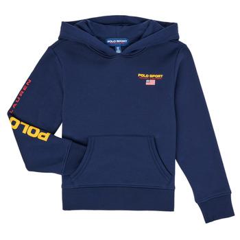 Textil Chlapecké Mikiny Polo Ralph Lauren AMELIA Tmavě modrá