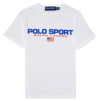 Textil Chlapecké Trička s krátkým rukávem Polo Ralph Lauren DRONI Bílá