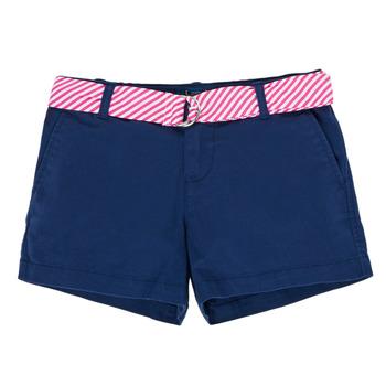 Textil Dívčí Kraťasy / Bermudy Polo Ralph Lauren FILLI Tmavě modrá