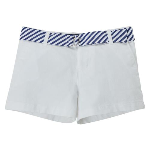 Textil Dívčí Kraťasy / Bermudy Polo Ralph Lauren FILLI Bílá
