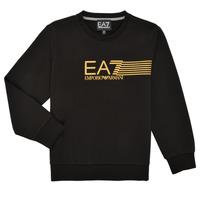 Textil Chlapecké Mikiny Emporio Armani EA7 3KBM55-BJ05Z-1200 Černá