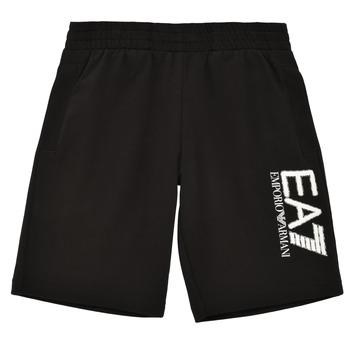 Textil Chlapecké Kraťasy / Bermudy Emporio Armani EA7 3KBS52-BJ05Z-1200 Černá