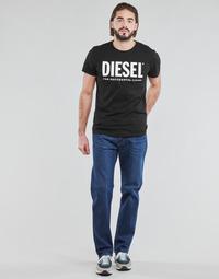 Textil Muži Rifle rovné Diesel D-MITHRY Modrá