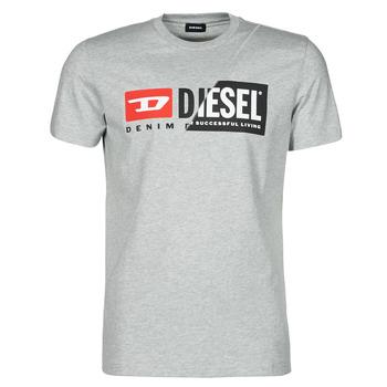 Textil Muži Trička s krátkým rukávem Diesel 00SDP1-0091A-912 Šedá