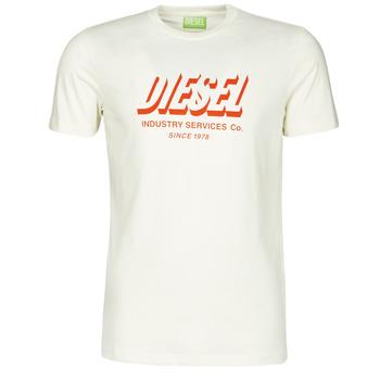 Textil Muži Trička s krátkým rukávem Diesel A01849-0GRAM-129 Bílá