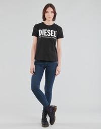 Textil Ženy Rifle skinny Diesel SLANDY-LOW Modrá