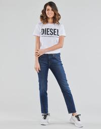 Textil Ženy Rifle rovné Diesel D-JOY Modrá