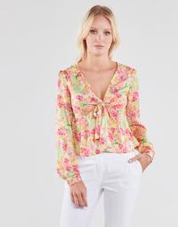 Textil Ženy Halenky / Blůzy Guess NEW LS GWEN TOP