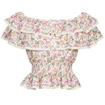 Textil Ženy Halenky / Blůzy Guess SS NEW ISOTTA TOP Růžová