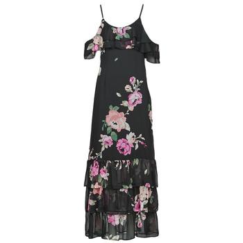 Textil Ženy Společenské šaty Guess AGATHE DRESS Černá