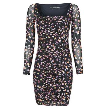 Textil Ženy Krátké šaty Guess GAYLE DRESS Černá