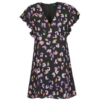 Textil Ženy Krátké šaty Guess AYAR DRESS Černá
