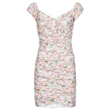 Textil Ženy Krátké šaty Guess INGRID DRESS Růžová / Světlá
