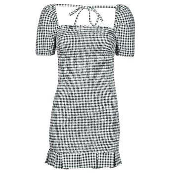 Textil Ženy Krátké šaty Guess AIDA  DRESS Černá / Bílá