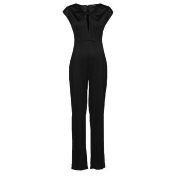 Textil Ženy Overaly / Kalhoty s laclem Guess ROSANNA JUMPSUIT Černá