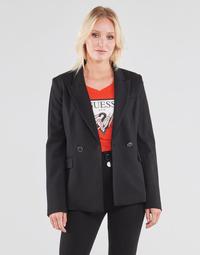 Textil Ženy Saka / Blejzry Guess MICAELA BLAZER Černá