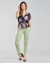 Textil Ženy Cargo trousers  Guess SEXY CARGO PANT Zelená