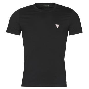 Textil Muži Trička s krátkým rukávem Guess CN SS CORE TEE Černá
