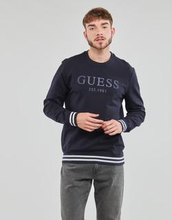 Textil Muži Mikiny Guess BEAU CN FLEECE Černá