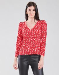 Textil Ženy Halenky / Blůzy Naf Naf COLINE C1 Červená