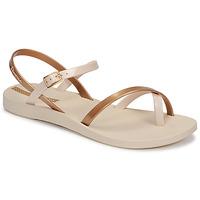 Boty Ženy Sandály Ipanema Ipanema Fashion Sandal VIII Fem Béžová / Zlatá