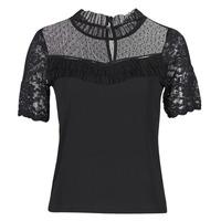 Textil Ženy Trička s krátkým rukávem Morgan DANY Černá