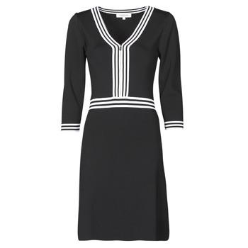 Textil Ženy Krátké šaty Morgan RMFATA Černá / Bílá