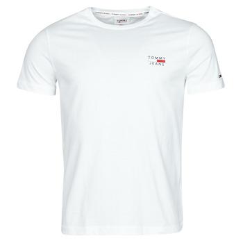Textil Muži Trička s krátkým rukávem Tommy Jeans TJM CHEST LOGO TEE Bílá