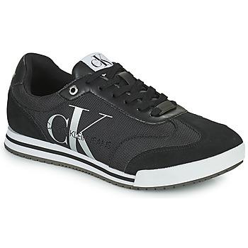Boty Muži Nízké tenisky Calvin Klein Jeans LOW PROFILE SNEAKER LACEUP PES Černá