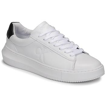 Boty Ženy Nízké tenisky Calvin Klein Jeans CHUNKY SOLE SNEAKER LACEUP LTH Bílá