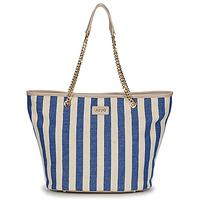 Taška Ženy Velké kabelky / Nákupní tašky Liu Jo SICURA XL TOTE Béžová / Modrá