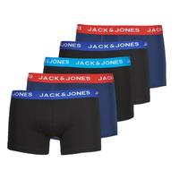 Spodní prádlo  Muži Boxerky Jack & Jones JACLEE X5 Modrá