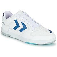 Boty Muži Nízké tenisky Hummel POWER PLAY Bílá / Modrá
