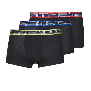 Spodní prádlo  Muži Boxerky Athena FULL STRETCH X3 Černá